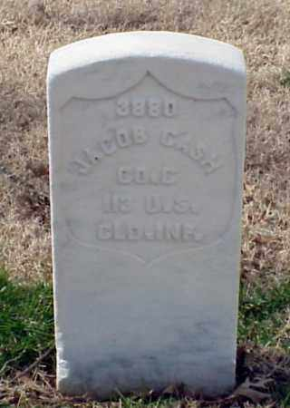 CASH (VETERAN UNION), JACOB - Pulaski County, Arkansas | JACOB CASH (VETERAN UNION) - Arkansas Gravestone Photos