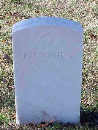 CASSIDA, P - Pulaski County, Arkansas   P CASSIDA - Arkansas Gravestone Photos