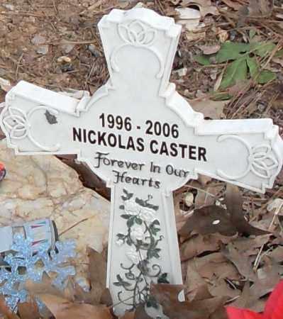 CASTER, NICKOLAS - Pulaski County, Arkansas | NICKOLAS CASTER - Arkansas Gravestone Photos