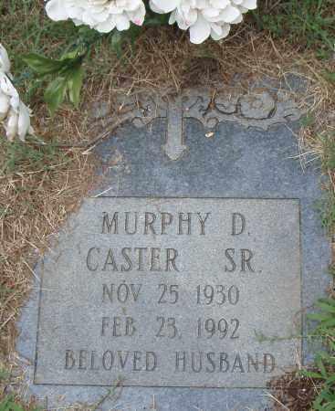 CASTER, SR., MURPHY  D. - Pulaski County, Arkansas   MURPHY  D. CASTER, SR. - Arkansas Gravestone Photos