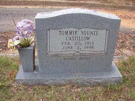 YOUNTS CASTILLOW, TOMMIE - Pulaski County, Arkansas   TOMMIE YOUNTS CASTILLOW - Arkansas Gravestone Photos