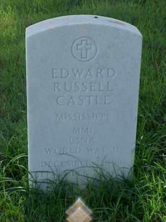 CASTLE (VETERAN WWII), EDWARD RUSSELL - Pulaski County, Arkansas | EDWARD RUSSELL CASTLE (VETERAN WWII) - Arkansas Gravestone Photos