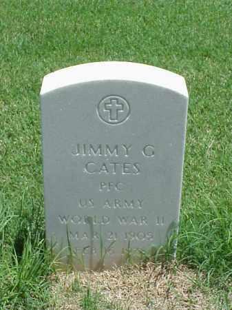 CATES (VETERAN WWII), JIMMY G - Pulaski County, Arkansas   JIMMY G CATES (VETERAN WWII) - Arkansas Gravestone Photos