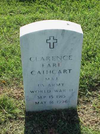 CATHCART (VETERAN WWII), CLARENCE EARL - Pulaski County, Arkansas   CLARENCE EARL CATHCART (VETERAN WWII) - Arkansas Gravestone Photos