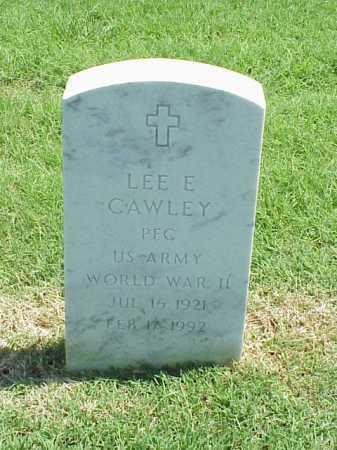 CAWLEY (VETERAN WWII), LEE E - Pulaski County, Arkansas   LEE E CAWLEY (VETERAN WWII) - Arkansas Gravestone Photos