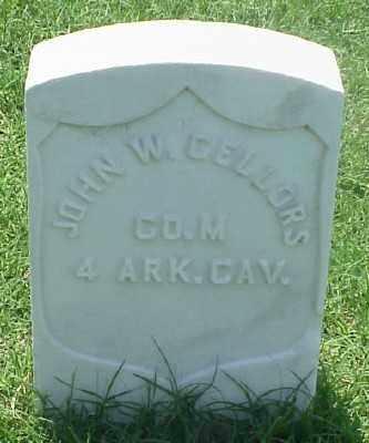CELLORS (VETERAN UNION), JOHN W - Pulaski County, Arkansas | JOHN W CELLORS (VETERAN UNION) - Arkansas Gravestone Photos