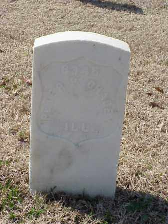 CHACEY (VETERAN UNION), PETER P - Pulaski County, Arkansas   PETER P CHACEY (VETERAN UNION) - Arkansas Gravestone Photos