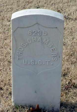 CHAMBERS (VETERAN UNION), THOMAS - Pulaski County, Arkansas   THOMAS CHAMBERS (VETERAN UNION) - Arkansas Gravestone Photos
