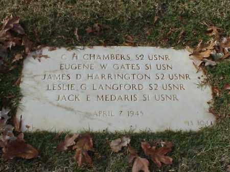 LANGFORD (VETERAN (WWII), LESLIE G - Pulaski County, Arkansas | LESLIE G LANGFORD (VETERAN (WWII) - Arkansas Gravestone Photos