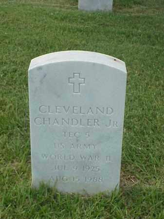 CHANDLER, JR (VETERAN WWII), CLEVELAND - Pulaski County, Arkansas   CLEVELAND CHANDLER, JR (VETERAN WWII) - Arkansas Gravestone Photos