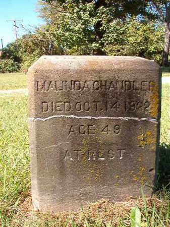 CHANDLER, MALINDA - Pulaski County, Arkansas | MALINDA CHANDLER - Arkansas Gravestone Photos