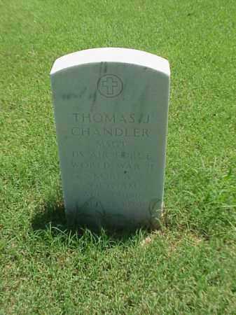 CHANDLER (VETERAN 3 WARS), THOMAS J - Pulaski County, Arkansas | THOMAS J CHANDLER (VETERAN 3 WARS) - Arkansas Gravestone Photos