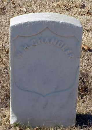 CHANDLER (VETERAN UNION), W H - Pulaski County, Arkansas | W H CHANDLER (VETERAN UNION) - Arkansas Gravestone Photos
