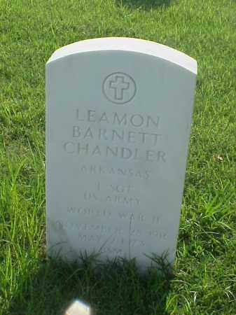 CHANDLER (VETERAN WWII), LEAMON BARNETT - Pulaski County, Arkansas | LEAMON BARNETT CHANDLER (VETERAN WWII) - Arkansas Gravestone Photos