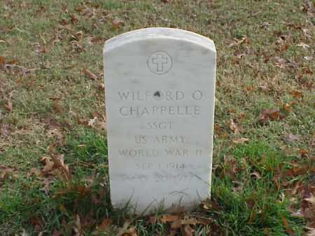CHAPPELLE (VETERAN WWII), WILFORD O - Pulaski County, Arkansas | WILFORD O CHAPPELLE (VETERAN WWII) - Arkansas Gravestone Photos