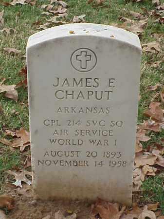CHAPUT (VETERAN WWI), JAMES E - Pulaski County, Arkansas   JAMES E CHAPUT (VETERAN WWI) - Arkansas Gravestone Photos