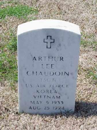 CHAUDOIN (VETERAN 2 WARS), ARTHUR LEE - Pulaski County, Arkansas | ARTHUR LEE CHAUDOIN (VETERAN 2 WARS) - Arkansas Gravestone Photos