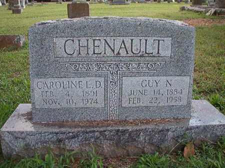 CHENAULT, CAROLINE L D - Pulaski County, Arkansas   CAROLINE L D CHENAULT - Arkansas Gravestone Photos