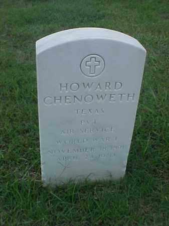 CHENOWETH (VETERAN WWI), HOWARD - Pulaski County, Arkansas   HOWARD CHENOWETH (VETERAN WWI) - Arkansas Gravestone Photos