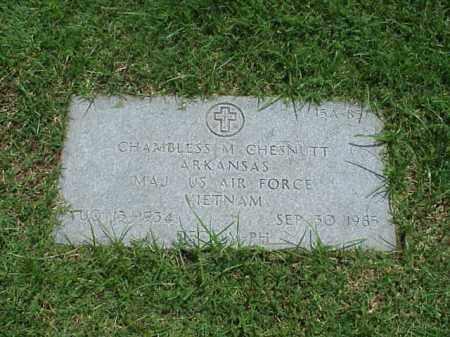 CHESNUTT (VETERAN VIET), CHAMBLESS M - Pulaski County, Arkansas | CHAMBLESS M CHESNUTT (VETERAN VIET) - Arkansas Gravestone Photos