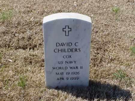 CHILDERS  (VETERAN WWII), DAVID C - Pulaski County, Arkansas | DAVID C CHILDERS  (VETERAN WWII) - Arkansas Gravestone Photos
