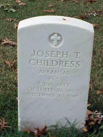 CHILDRESS (VETERAN WWII), JOSEPH T - Pulaski County, Arkansas | JOSEPH T CHILDRESS (VETERAN WWII) - Arkansas Gravestone Photos