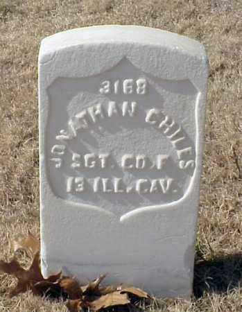 CHILES (VETERAN UNION), JONATHAN - Pulaski County, Arkansas | JONATHAN CHILES (VETERAN UNION) - Arkansas Gravestone Photos