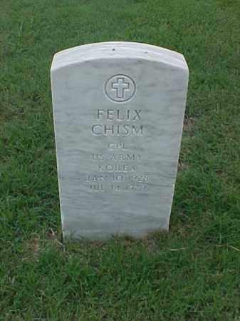 CHISM (VETERAN KOR), FELIX - Pulaski County, Arkansas   FELIX CHISM (VETERAN KOR) - Arkansas Gravestone Photos