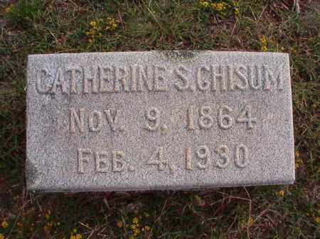 CHISUM, CATHERINE S - Pulaski County, Arkansas | CATHERINE S CHISUM - Arkansas Gravestone Photos