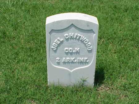 CHITWOOD (VETERAN UNION), JOEL - Pulaski County, Arkansas | JOEL CHITWOOD (VETERAN UNION) - Arkansas Gravestone Photos