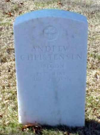 CHRISTENSEN (VETERAN UNION), ANDREW - Pulaski County, Arkansas | ANDREW CHRISTENSEN (VETERAN UNION) - Arkansas Gravestone Photos