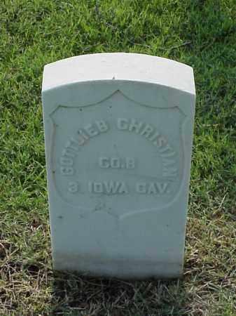 CHRISTIAN (VETERAN UNION), GOTTLIEB - Pulaski County, Arkansas   GOTTLIEB CHRISTIAN (VETERAN UNION) - Arkansas Gravestone Photos