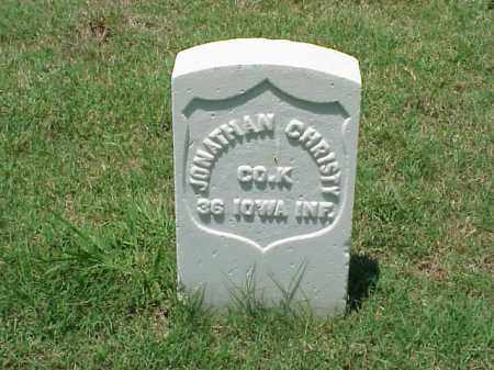 CHRISTY (VETERAN UNION), JONATHAN - Pulaski County, Arkansas | JONATHAN CHRISTY (VETERAN UNION) - Arkansas Gravestone Photos