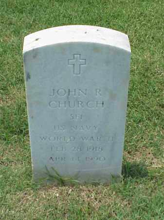 CHURCH (VETERAN WWII), JOHN R - Pulaski County, Arkansas   JOHN R CHURCH (VETERAN WWII) - Arkansas Gravestone Photos
