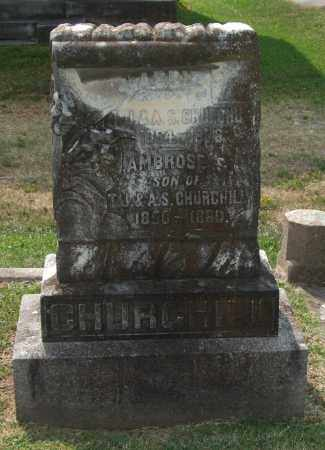 CHURCHILL, ABBIE - Pulaski County, Arkansas | ABBIE CHURCHILL - Arkansas Gravestone Photos