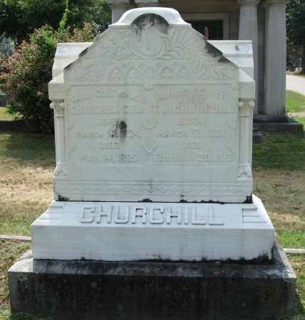 SEVIER CHURCHILL, ANNIE - Pulaski County, Arkansas | ANNIE SEVIER CHURCHILL - Arkansas Gravestone Photos