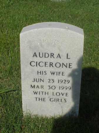 CICERONE, AUDRA L - Pulaski County, Arkansas | AUDRA L CICERONE - Arkansas Gravestone Photos