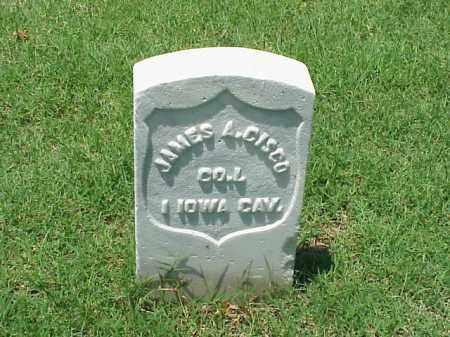 CISCO (VETERAN UNION), JAMES A - Pulaski County, Arkansas   JAMES A CISCO (VETERAN UNION) - Arkansas Gravestone Photos