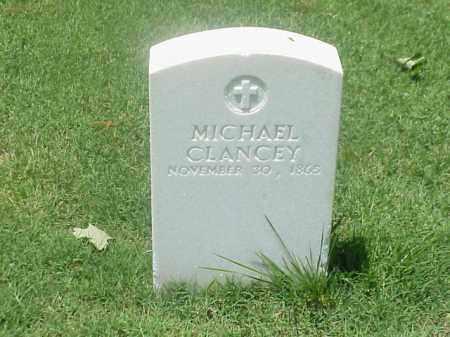 CLANCEY (VETERAN UNION), MICHAEL - Pulaski County, Arkansas | MICHAEL CLANCEY (VETERAN UNION) - Arkansas Gravestone Photos