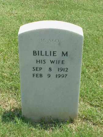 CLAPPER, BILLIE M - Pulaski County, Arkansas | BILLIE M CLAPPER - Arkansas Gravestone Photos