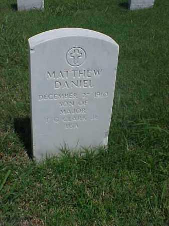 CLARK, MATTHEW DANIEL - Pulaski County, Arkansas | MATTHEW DANIEL CLARK - Arkansas Gravestone Photos