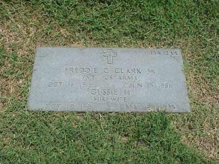 CLARK, SR (VETERAN WWII), FREDDIE C - Pulaski County, Arkansas | FREDDIE C CLARK, SR (VETERAN WWII) - Arkansas Gravestone Photos
