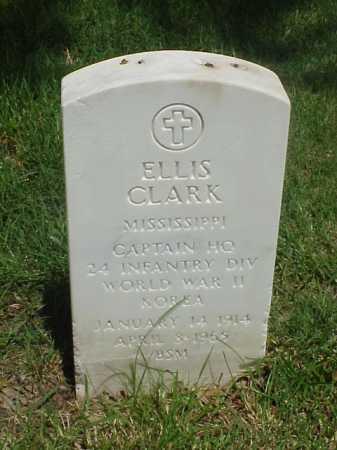 CLARK (VETERAN 2 WARS), ELLIS - Pulaski County, Arkansas | ELLIS CLARK (VETERAN 2 WARS) - Arkansas Gravestone Photos