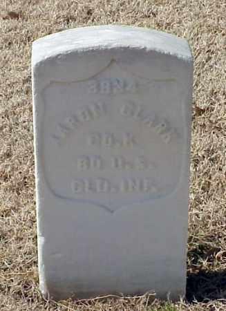 CLARK (VETERAN UNION), AARON - Pulaski County, Arkansas | AARON CLARK (VETERAN UNION) - Arkansas Gravestone Photos