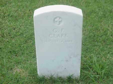 CLARK, G F - Pulaski County, Arkansas   G F CLARK - Arkansas Gravestone Photos