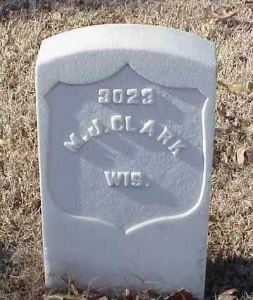 CLARK (VETERAN UNION), MELVIN J - Pulaski County, Arkansas | MELVIN J CLARK (VETERAN UNION) - Arkansas Gravestone Photos