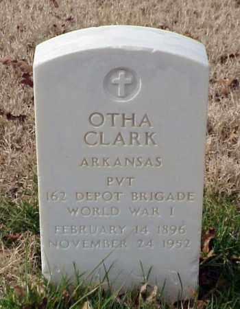 CLARK (VETERAN WWI), OTHA - Pulaski County, Arkansas | OTHA CLARK (VETERAN WWI) - Arkansas Gravestone Photos
