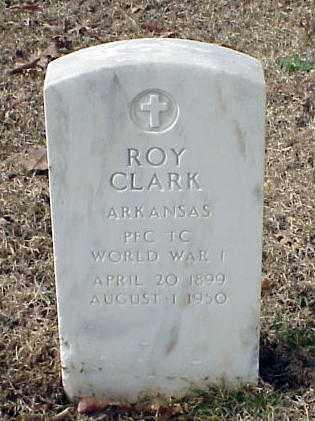 CLARK (VETERAN WWI), ROY - Pulaski County, Arkansas | ROY CLARK (VETERAN WWI) - Arkansas Gravestone Photos