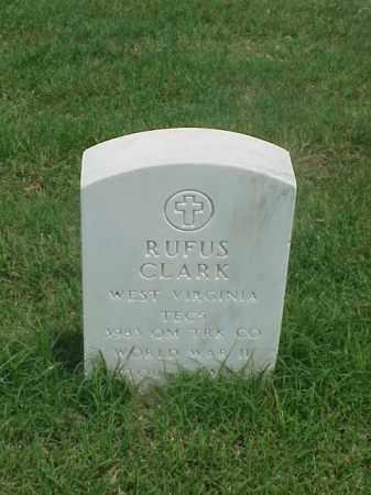 CLARK (VETERAN WWII), RUFUS - Pulaski County, Arkansas   RUFUS CLARK (VETERAN WWII) - Arkansas Gravestone Photos