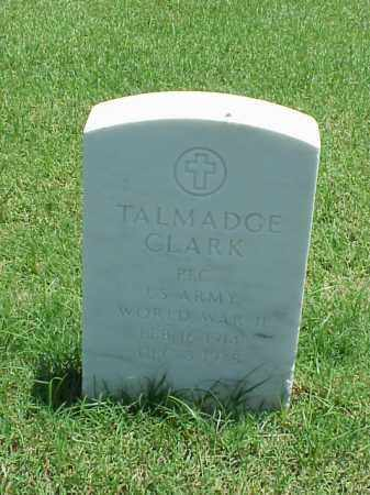 CLARK (VETERAN WWII), TALMADGE - Pulaski County, Arkansas | TALMADGE CLARK (VETERAN WWII) - Arkansas Gravestone Photos